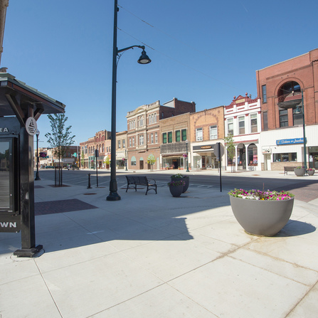 Image of Broadway Avenue Streetscape, City of Albert Lea, Minnesota