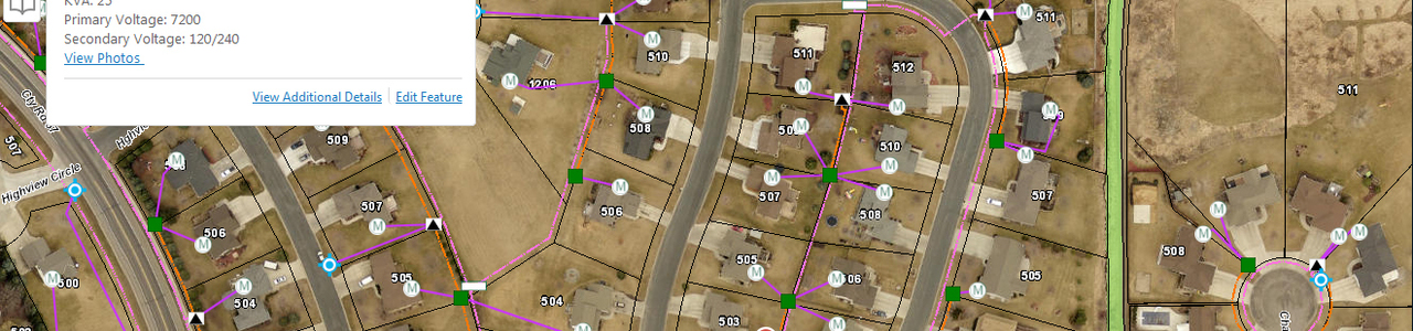 GPS Collection and Electrical Web GIS Application, City of New Prague, Minnesota
