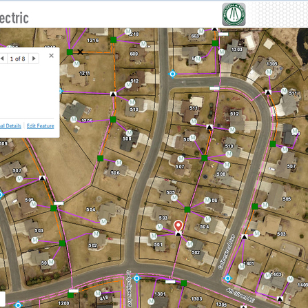 Image of GPS Collection and Electrical Web GIS Application, City of New Prague, Minnesota