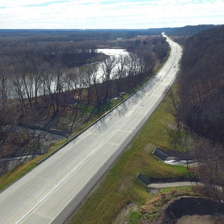 Image of TH 169 Flood Mitigation and Resurfacing, MnDOT District 7