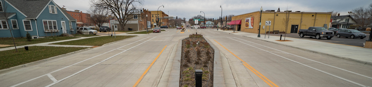 TH 99 (Broadway Avenue) Downtown Streetscape and Infrastructure Improvements, City of Saint Peter, Minnesota
