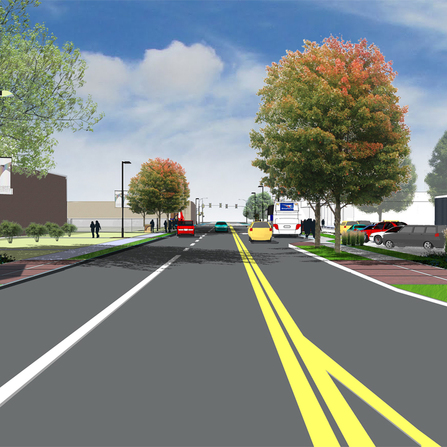 Image of Roosevelt Cultural District Streetscape Master Plan, City of Des Moines, Iowa