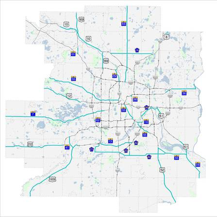 Image of Principal Arterial Intersection Conversion Study, Metropolitan Council and Minnesota Department of Transportation