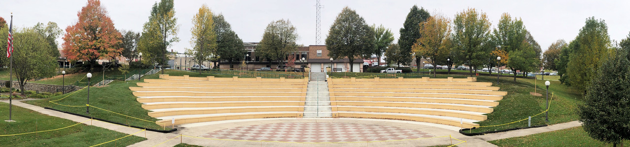 German Park Amphitheater, City of New Ulm, Minnesota