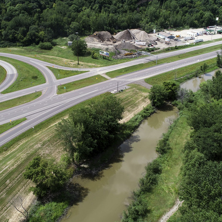 Image of TH 169 Levee, MnDOT District 7