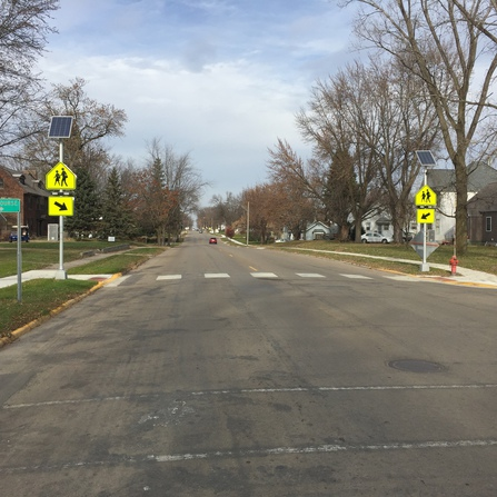 Image of Safe Routes to School Infrastructure, City of Wells, Minnesota