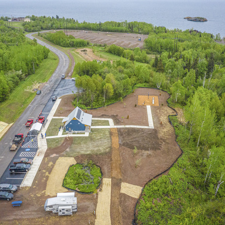 Image of Silver Bay Trailhead and Black Beach Campground, City of Silver Bay, Minnesota
