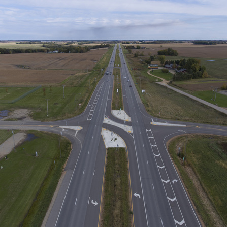 Image of TH 169/CR 28 Intersection Improvements, Le Sueur County, Minnesota