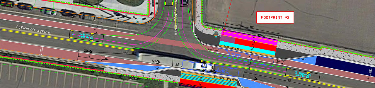 Glenwood Avenue BRT Concepts Design, Metro Transit