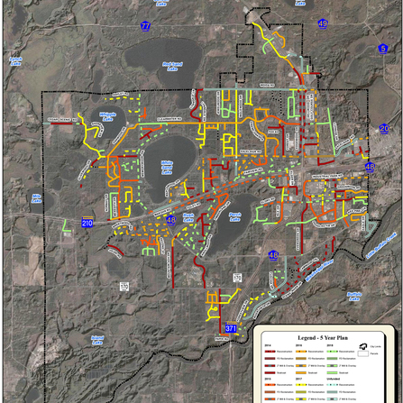 Image of Comprehensive Pavement Management System, City of Baxter, Minnesota