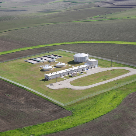 Image of Wastewater Industrial Treatment Facility, City of Le Mars, Iowa
