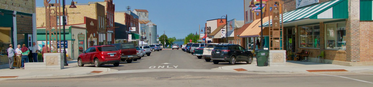 Downtown Streetscape and Infrastructure Improvements, City of Osakis, Minnesota