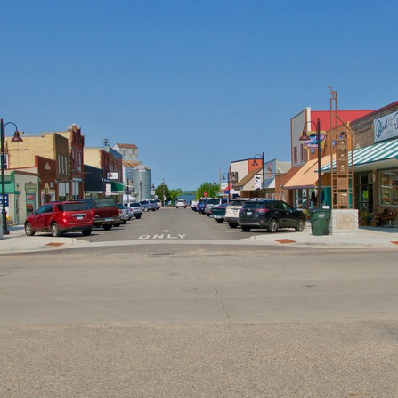 Image of Downtown Streetscape and Infrastructure Improvements, City of Osakis, Minnesota