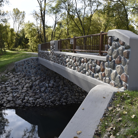 Image of Mississippi River Trail, City of Anoka, Minnesota