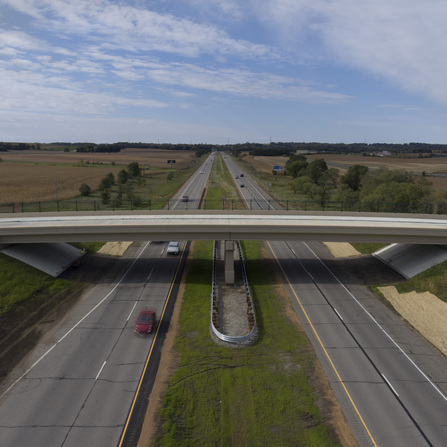 Image of Belle Plaine Overpass, City of Belle Plaine, Minnesota