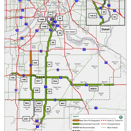 Image of Principal Arterial Study, Dakota County, Minnesota