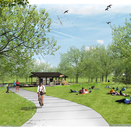 Image of Canary Park Site Plan, City of Clive, Iowa