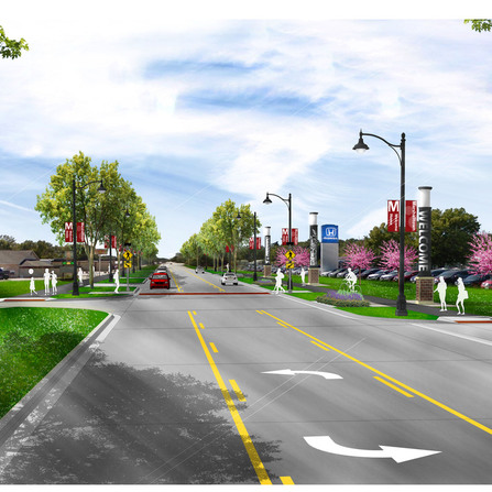Image of Highway 14 Corridor Study, City of Marshalltown, Iowa