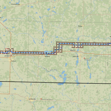 Image of Southern Minnesota Transmission Line, ITC Midwest