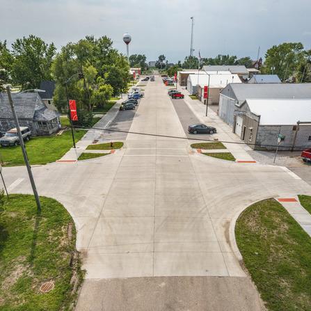 Image of Main Street Reconstruction, City of Elkhart, Iowa
