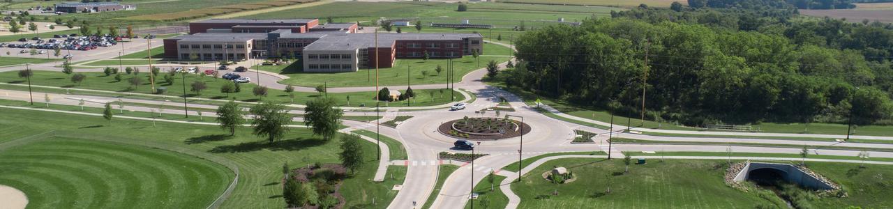 Kirkwood Boulevard Roundabout, City of Cedar Rapids, Iowa