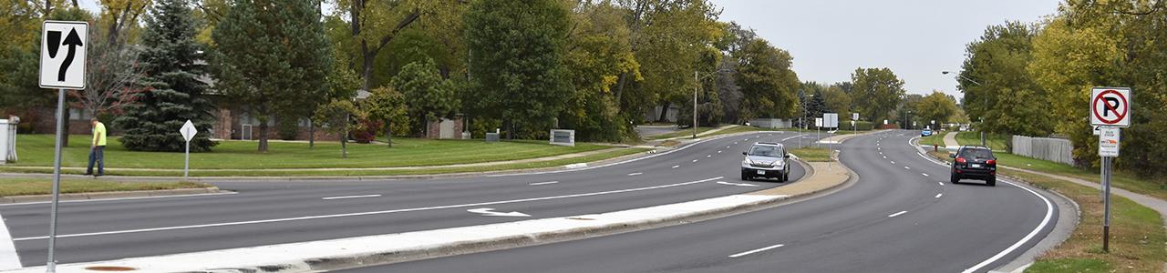 Heart of the City Arterial Roadway Improvements, City of Burnsville, Minnesota