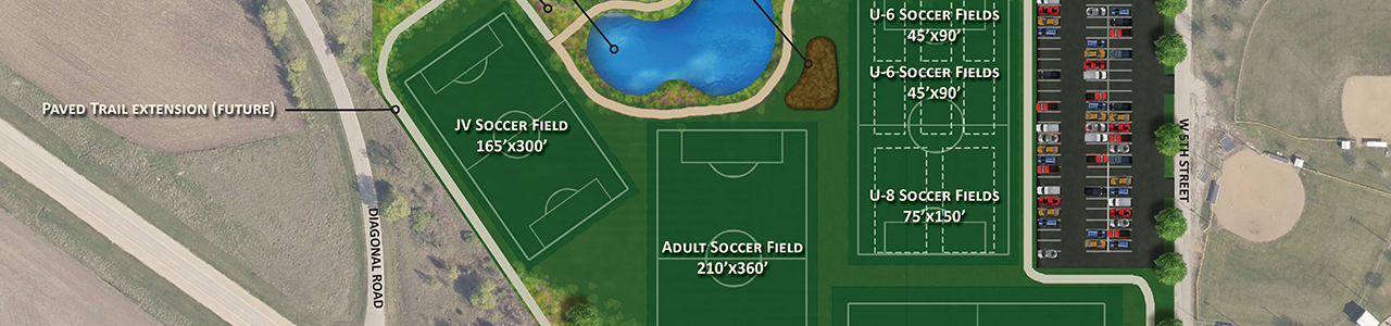 Pattee Park Soccer Complex Expansion, City of Perry, Iowa