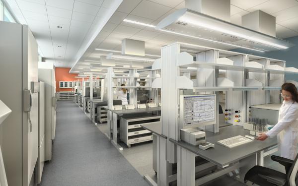 Modern Lab photograph