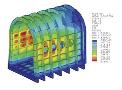 Mailbox design of thermal vacuum chamber - Matrix PDM Engineering