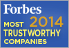 Forbes  - America's Most Trustworthy Companies 2014