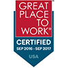 2016 - 2017 Great Place to Work