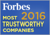 Forbes  - America's Most Trustworthy Companies 2016