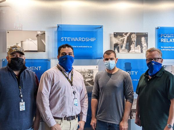Matrix Service fabrication team