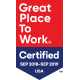 Great Place to Work 2018 - 2019