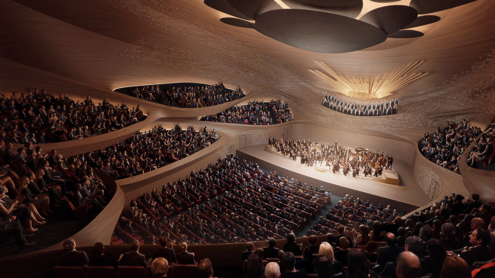 Proposed concert hall