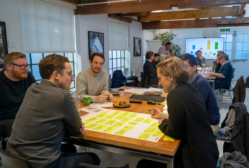 BREEAM APs at a design workshop