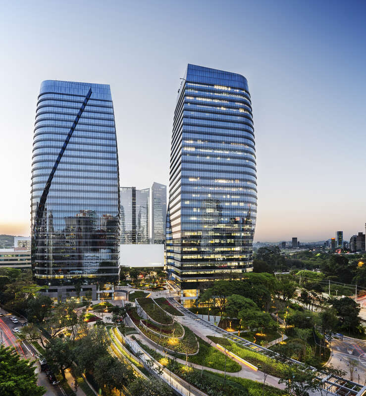 Dual 24 Story Apartment Towers Debut At 8th Spring: São Paulo Corporate Towers