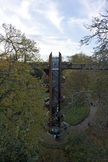 Rhizotron Aerial Walkway slider image
