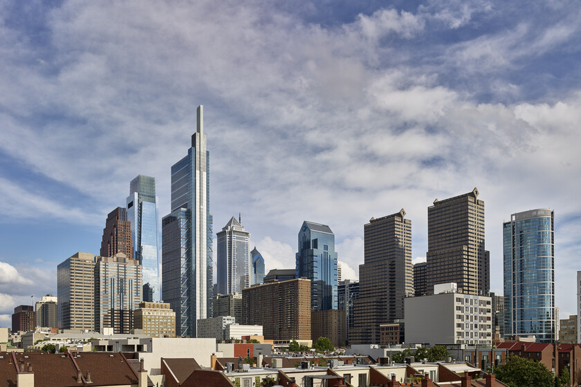 The Comcast Technology Center slider image