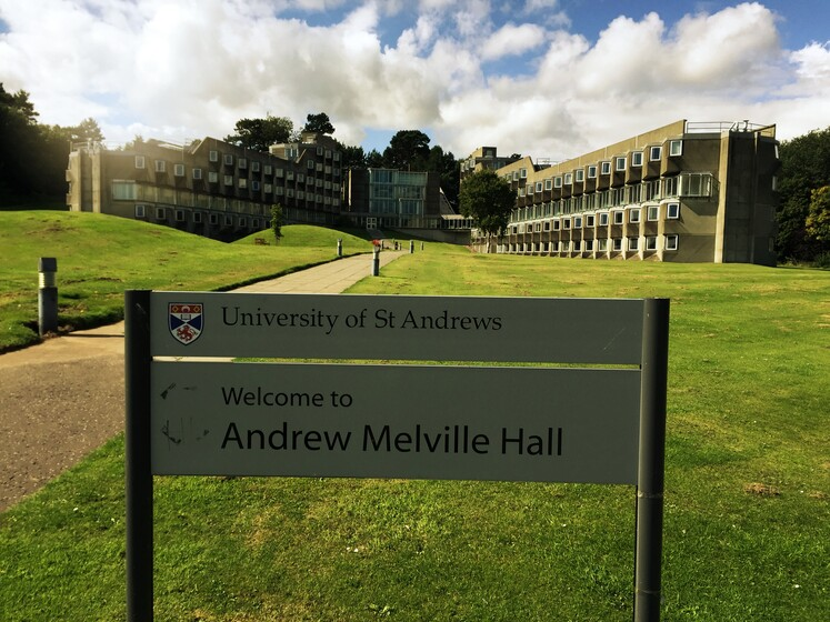 Andrew Melville Hall slider image