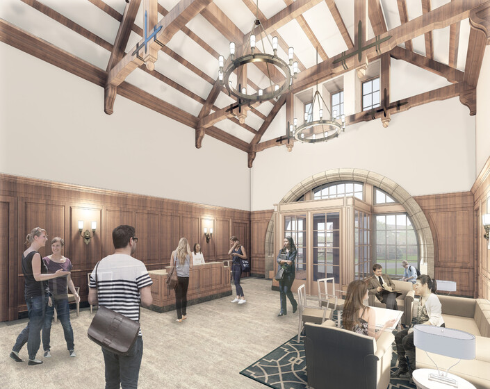 New Residence Hall, Colgate University slider image