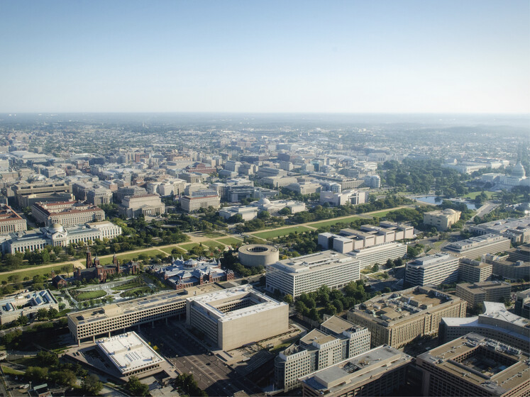 Smithsonian South Mall Campus Masterplan slider image