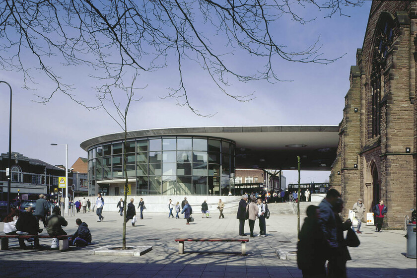 Walsall Bus Station slider image