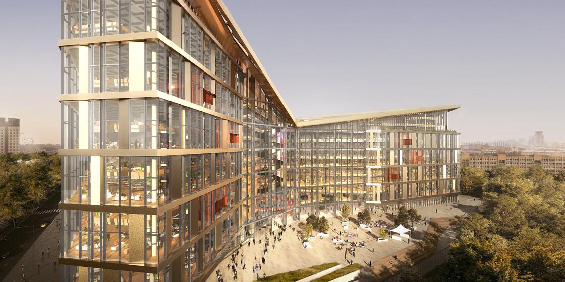 Yandex Office Campus slider image