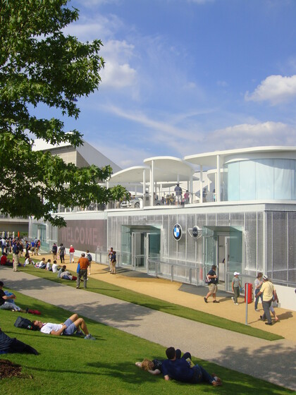 BMW Pavilion, 2012 Summer Olympics slider image