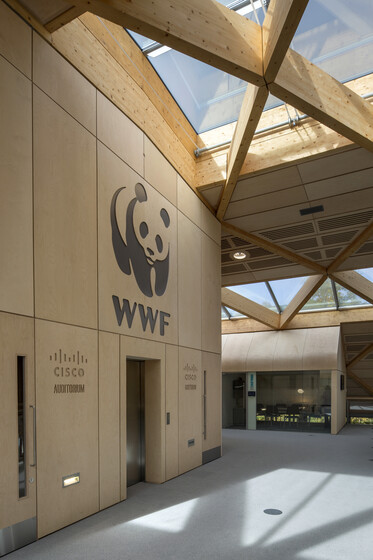 WWF-UK Living Planet Centre slider image