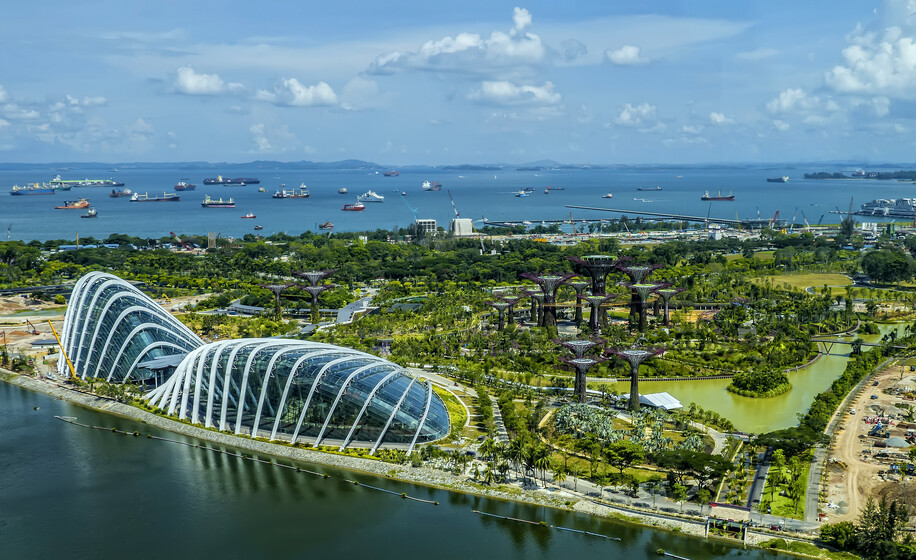 Gardens by the Bay slider image