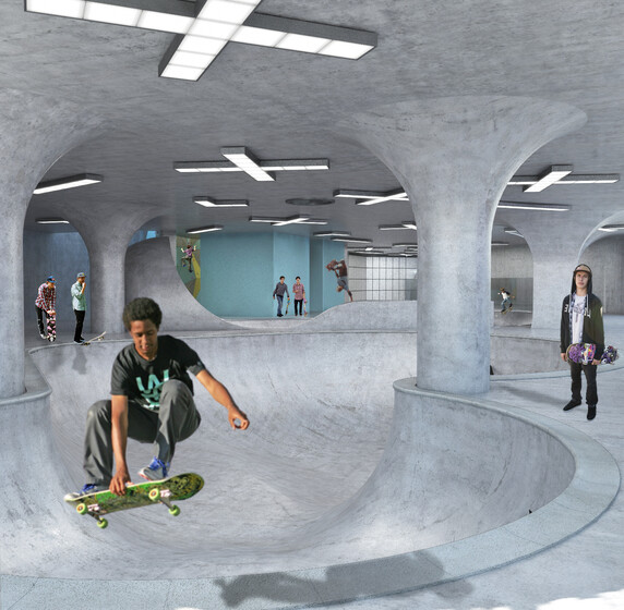 Folkestone Skate Park slider image