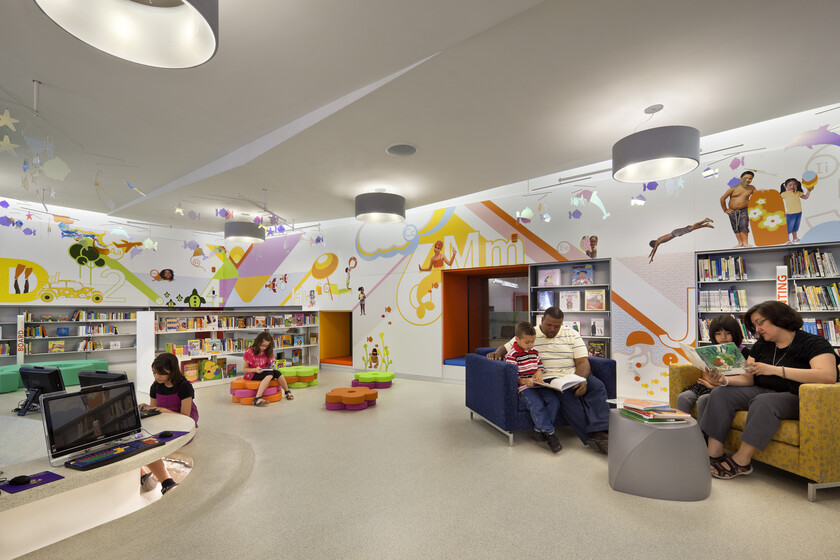 Children's Library Discovery Center, Queens Public Library slider image