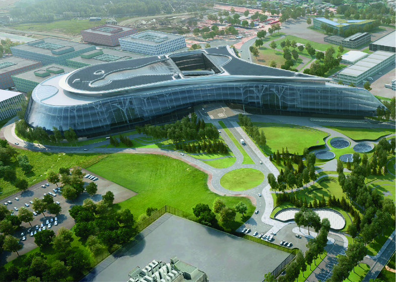 Technopark of Sberbank slider image